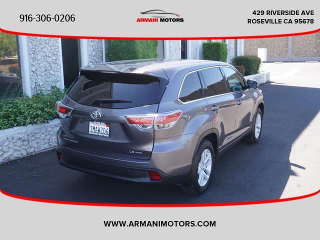 Toyota Highlander 2015 price $24,995