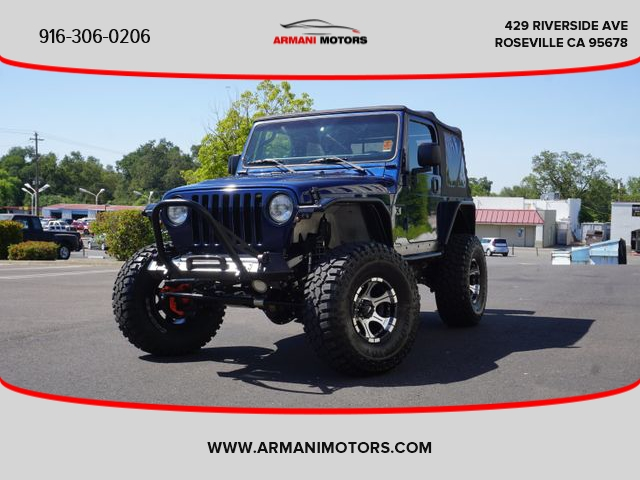 Jeep Wrangler 2003 price Call for Pricing.