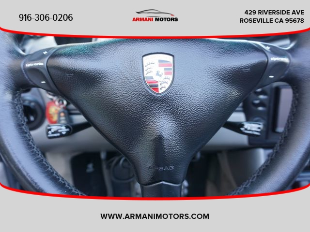 Porsche Boxster 2001 price $14,795