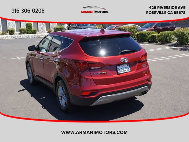 Hyundai Santa Fe Sport 2017 price $16,395