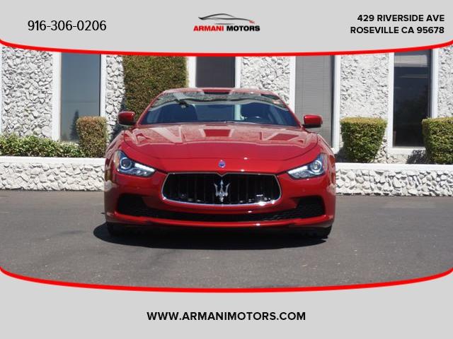 Maserati Ghibli 2015 price $31,995