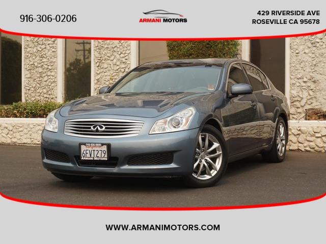 INFINITI G 2008 price $13,500