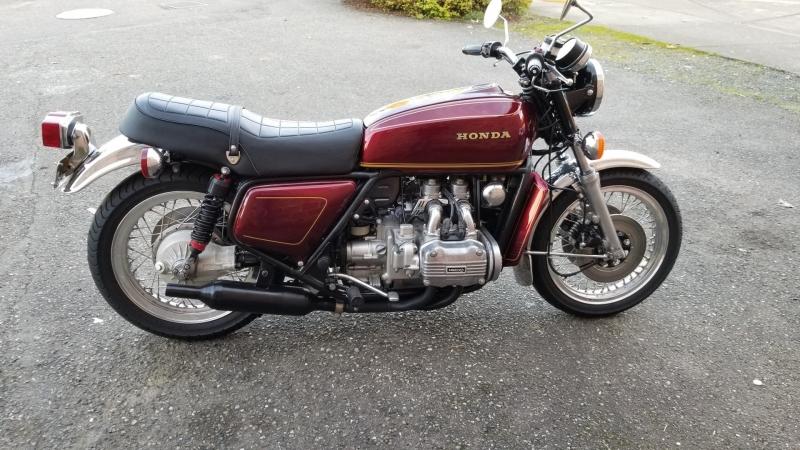 Honda GL1000 Goldwing 1976 price $4,250