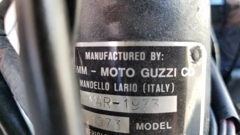 Moto Guzzi Other 1973 price $3,950
