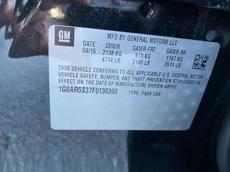 Cadillac CTS Sedan 2015 price $17,980