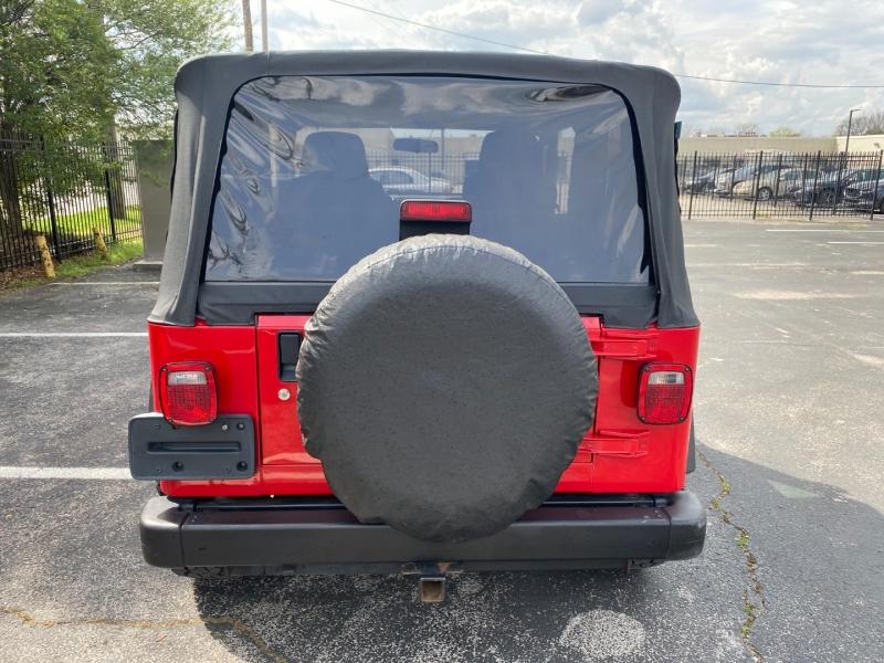 Jeep Wrangler 2004 price $17,980
