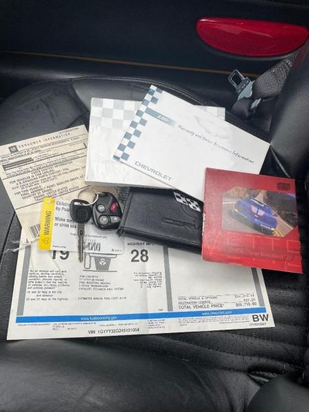 Chevrolet Corvette 2004 price $21,980