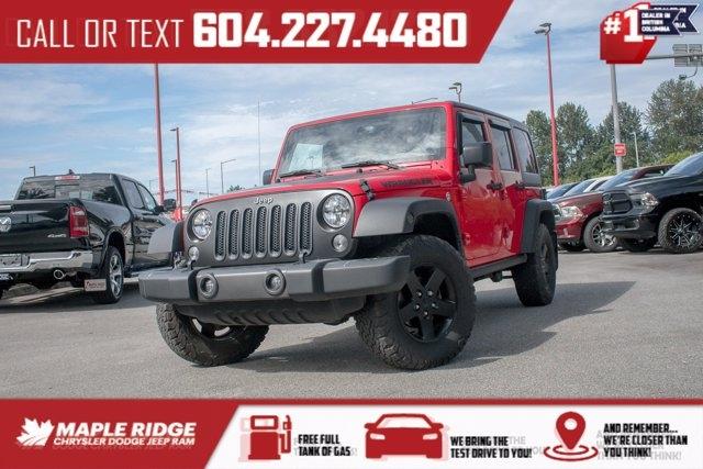 Jeep Wrangler Unlimited 2017 price $45,490