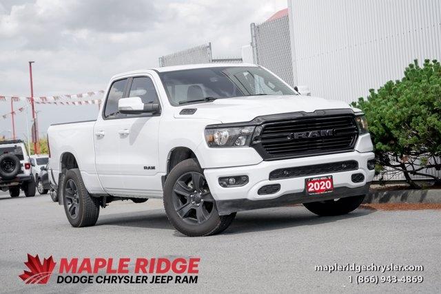 Ram 1500 2020 price $55,590