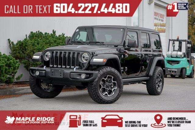 Jeep Wrangler 4xe 2021 price $77,990