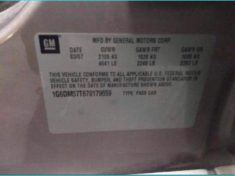 CADILLAC CTS 2007 price $5,999