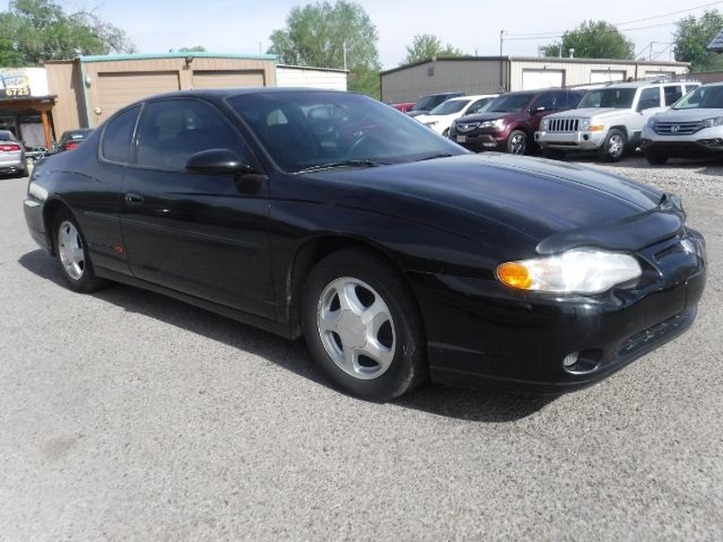 Chevrolet Monte Carlo 2001 price $4,333