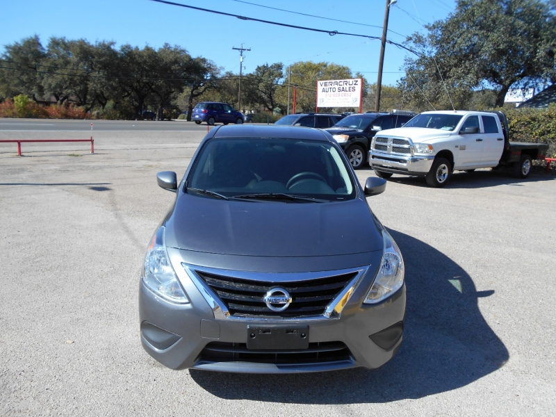 Nissan Versa 2016 price $8,950
