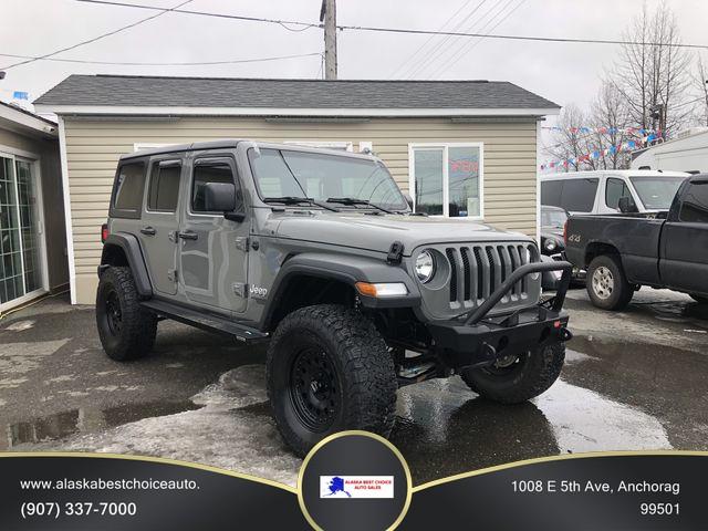 Jeep Wrangler Unlimited 2018 price $39,999