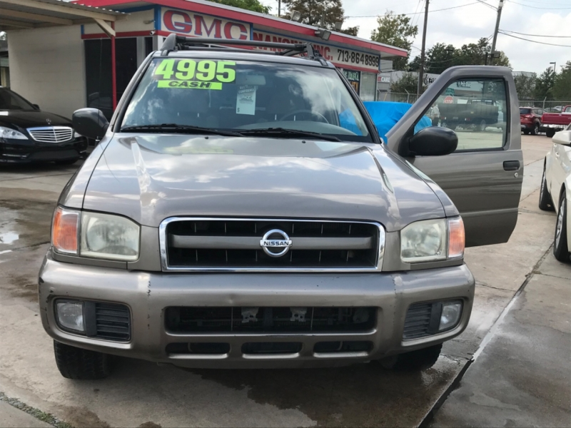 Nissan Pathfinder 2002 price $0
