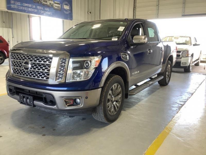 Nissan Titan 2017 price $31,700