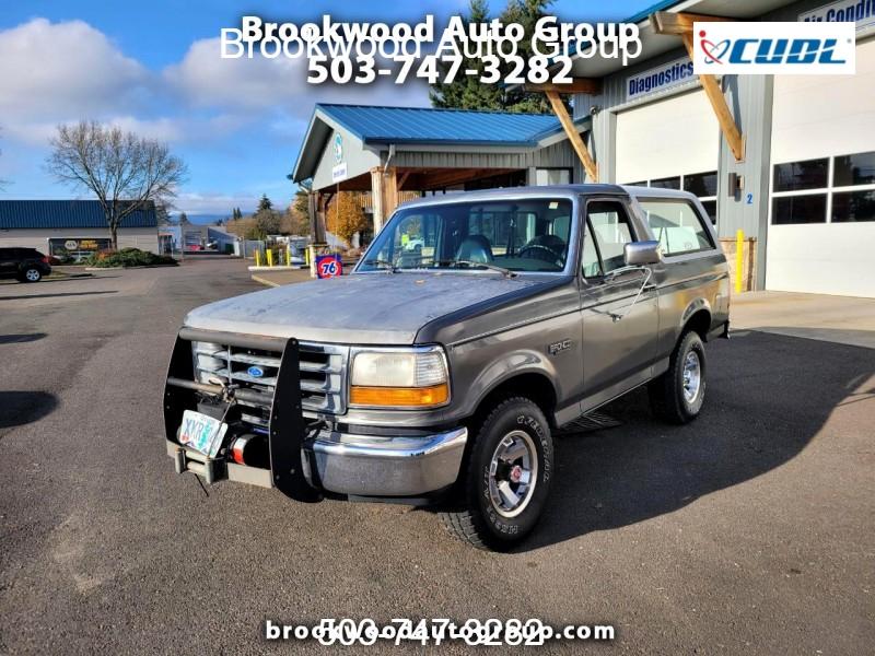 Ford Bronco 1992 price $9,700