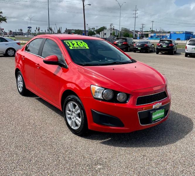 Chevrolet Sonic 2015 price $8995/$1200 Down