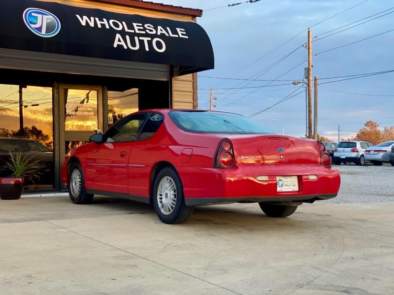 Chevrolet Monte Carlo 2002 price $2,998