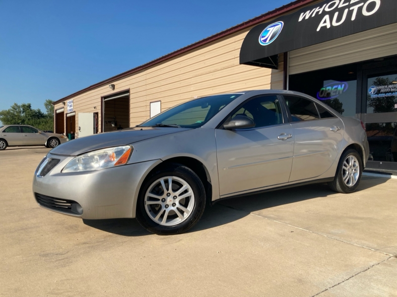 Pontiac G6 2006 price $3,998
