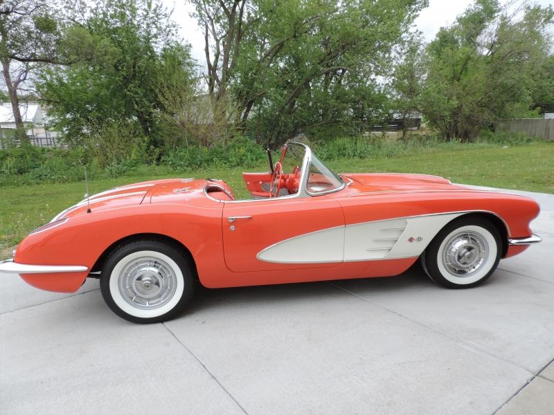 Chevrolet Corvette 1958 price $89,980