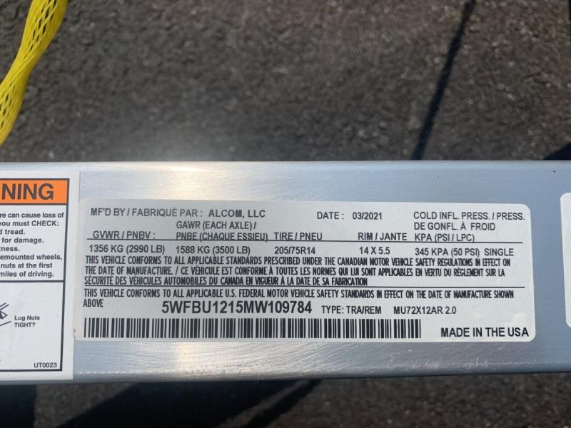 Mission MU72x12AR 2021 price $3,400