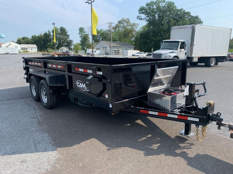 Cam Superline 7x16 HD Dump Trailer 2022 price $11,500