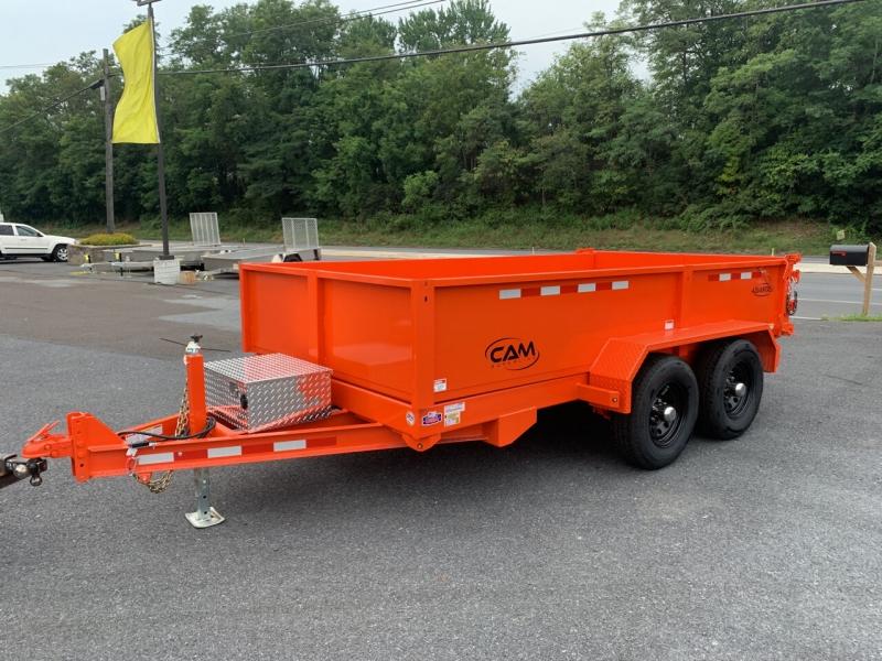 Cam Superline 6x12 Dump Trailer 2022 price $9,000