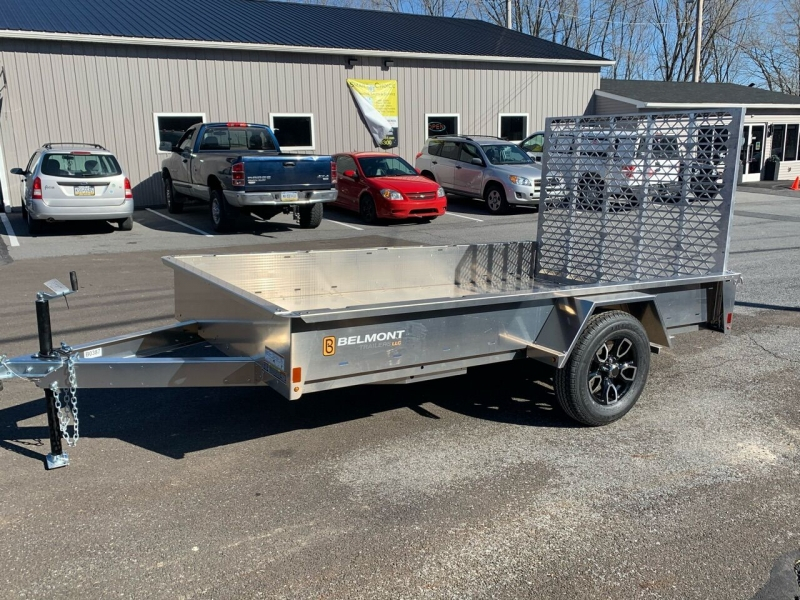 Belmont 6x10 Aluminum Solid Side 2021 price $3,900