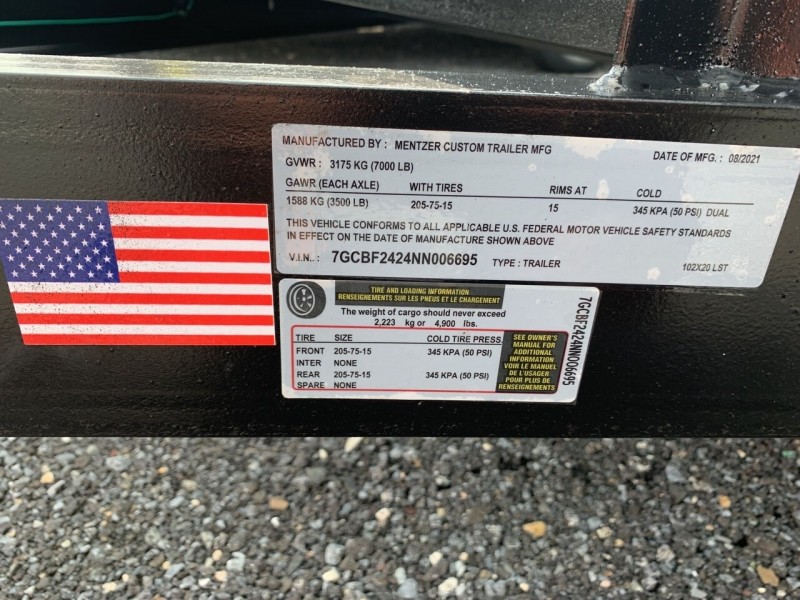 MCT 7x20 Utility 2022 price $4,300