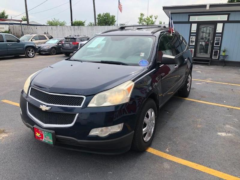 Chevrolet Traverse 2009 price $0