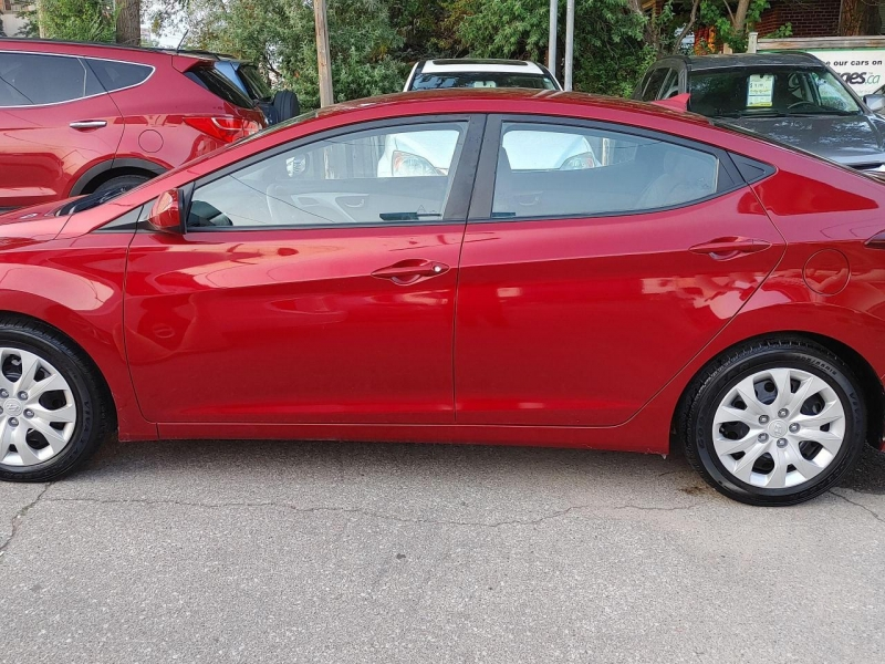 Hyundai Elantra 2014 price $6,933