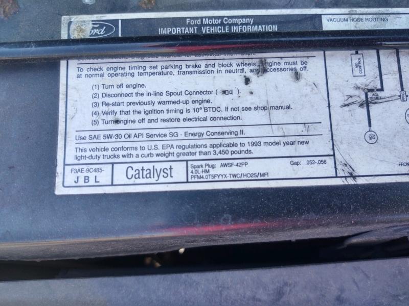 Ford Ranger 1993 price $1,850 Cash