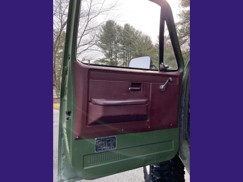 Chevrolet MILITARY TRUCK 1986 price $11,995
