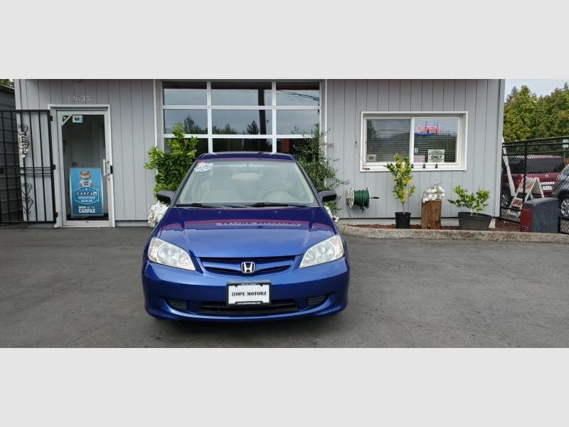 Honda Civic 2005 price $5,491