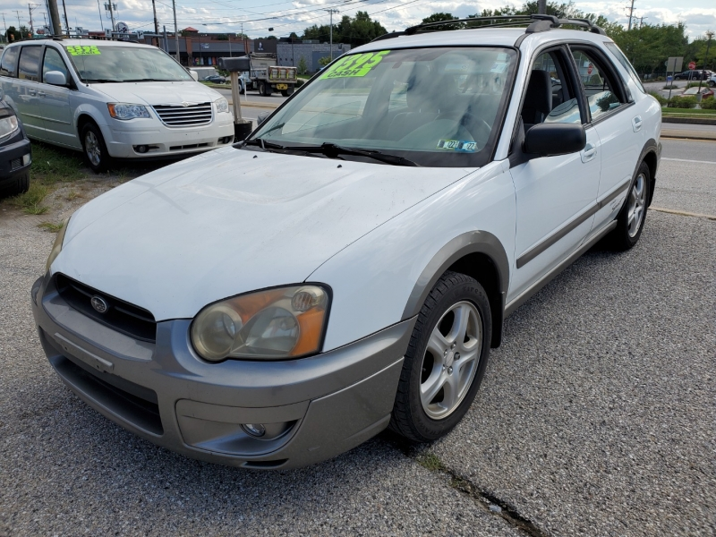 Subaru Impreza Wagon (Natl) 2004 price $4,395 Cash