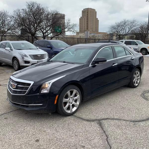 Cadillac ATS Sedan 2015 price $16,995