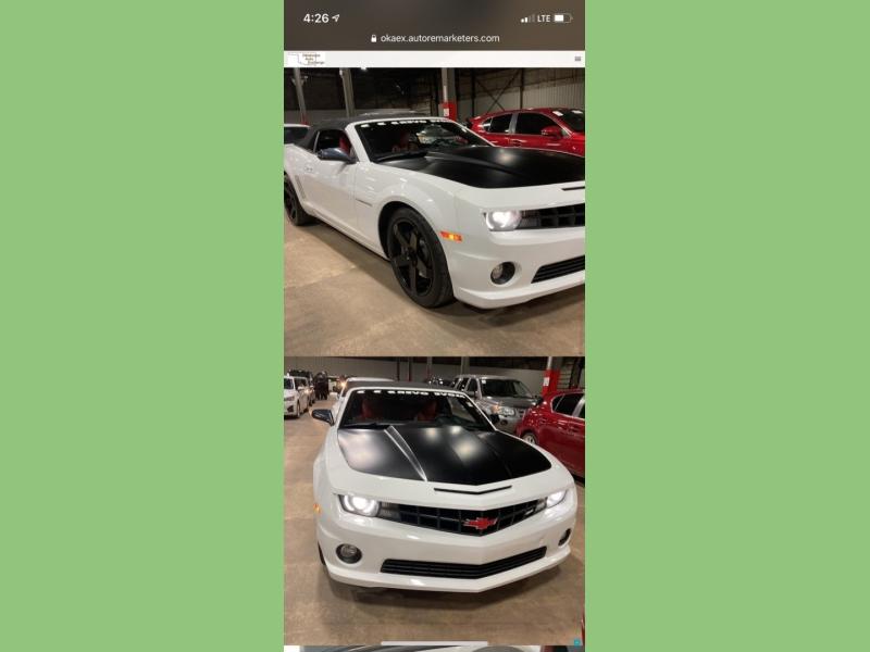 Chevrolet Camaro 2011 price $16,200