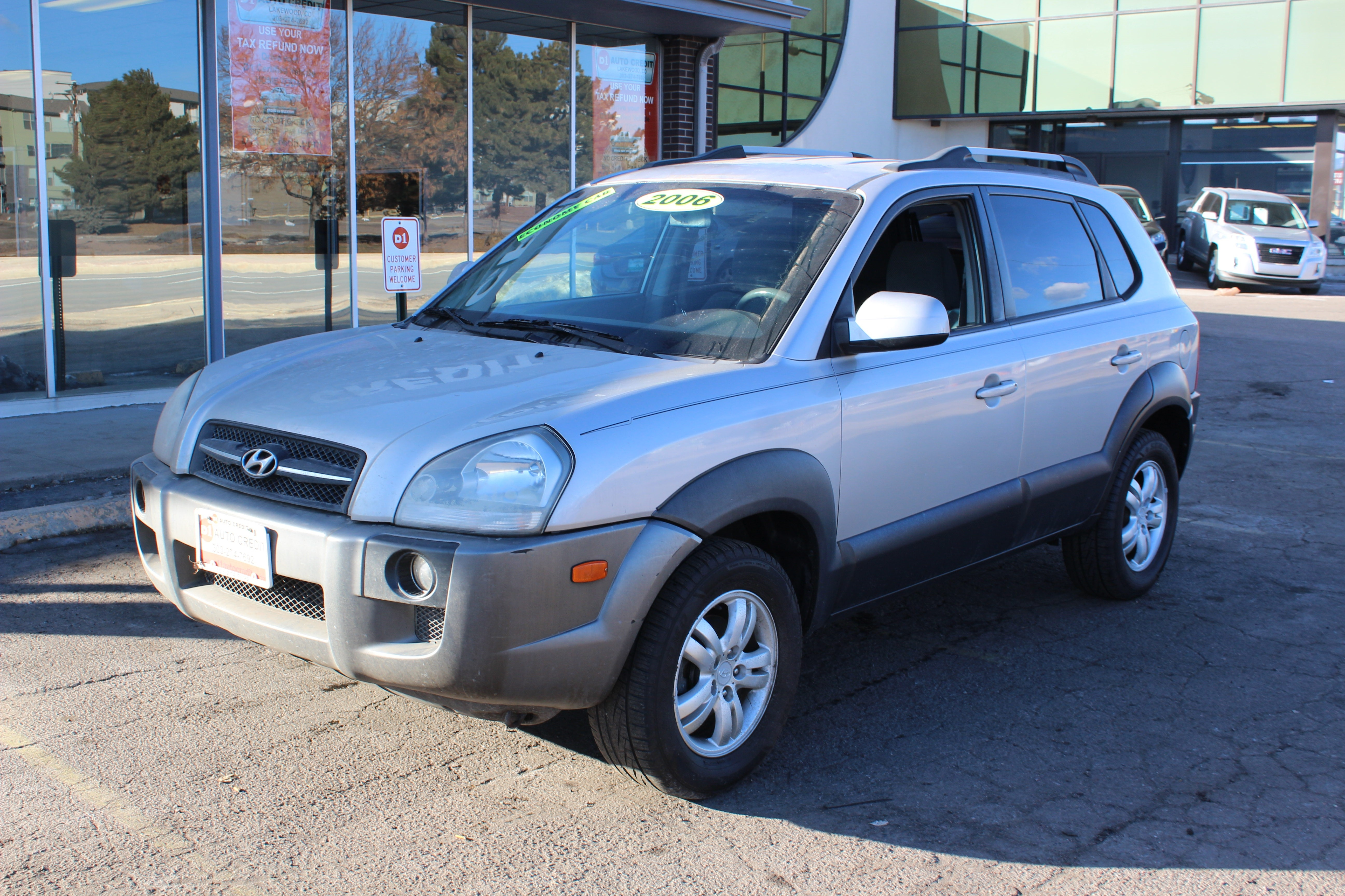 2006 Hyundai Tucson 4dr Gls 4wd 2 7l V6 Auto D1 Auto Credit Dealership In Lakewood
