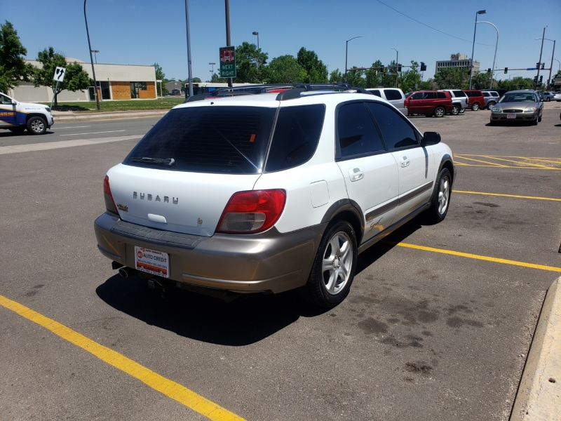 Subaru Impreza Wagon 2003 price Call for Pricing.