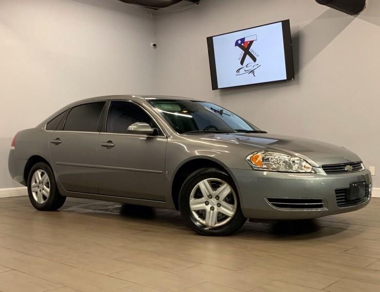 2006 Chevrolet Impala LS 4dr Sedan w/ roof rail curtain delete