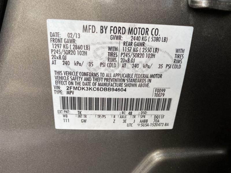 FORD EDGE 2013 price $15,899