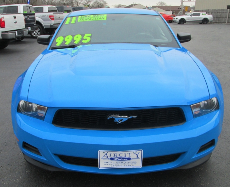 Ford MUSTANG COUPE 6-SPEED MANUAL 2011 price $9,995