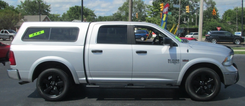 RAM 1500 OUTDOORSMAN CREW CAB 4X4 2016 price $26,995