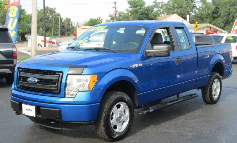 Ford F-150 SUPERCAB STX 4X4 2014 price $22,995