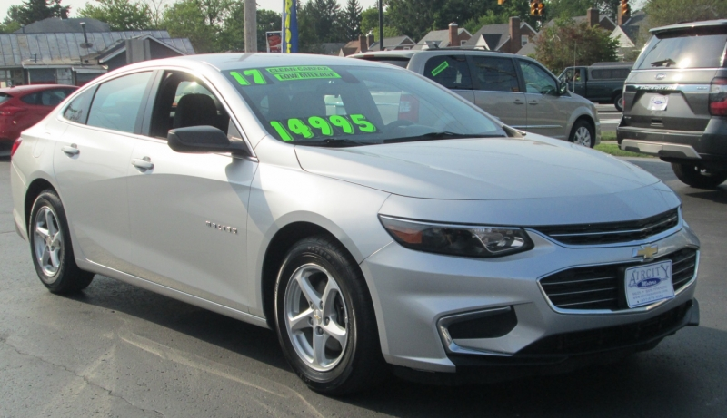 Chevrolet MALIBU 4DR SEDAN LS 2017 price $14,995