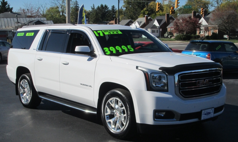 GMC YUKON XL SLE 4X4 2017 price $38,695