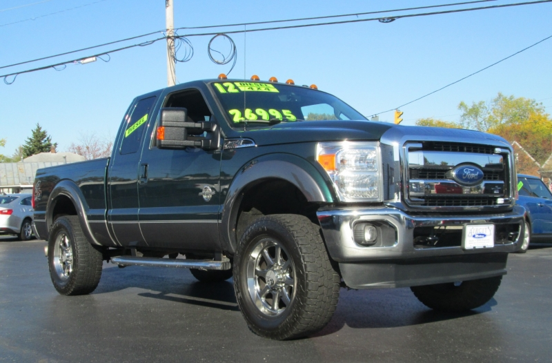 Ford SUPER DUTY F-250 DIESEL LARIAT 4X4 2012 price $25,995