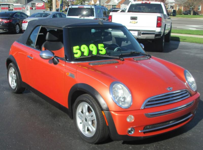 Mini COOPER 2DR CONVERTIBLE 2005 price $5,495