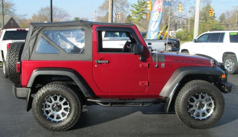 Jeep WRANGLER 2DR SPORT 4X4 2013 price $21,995